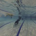 Entrainement apnée en piscine à Biarritz (Côte Basque)