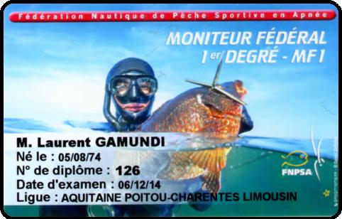 MEF1 Chasse sous-marine