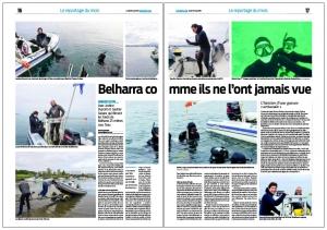 BCO - Apnée sur la côte Basque à Belharra